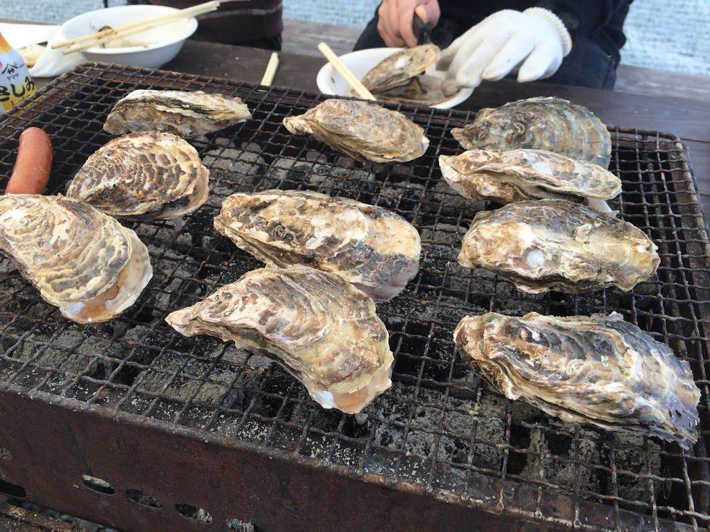 牡蠣 小屋 日生